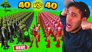 40x Doctor Doom GEGEN 40x Iron Man! SYou VS. Standart Skill!