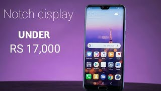 5 BEST BAZEL-LESS Phone With NOTCH Under ₹17,000!
