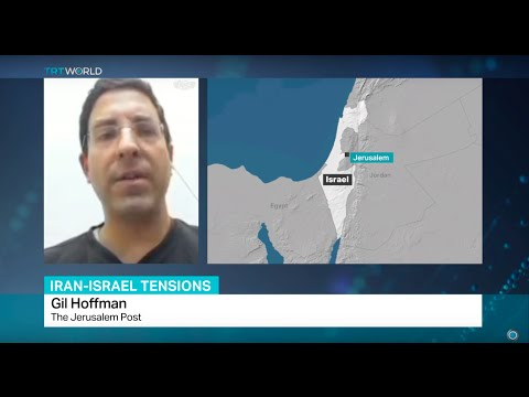 Interview with Gil Hoffman from The Jerusalem Post on tensions between Iran and Israel