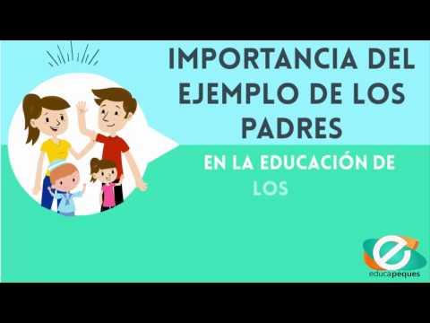 Importancia del ejemplo de los padres en la educación de los hijos