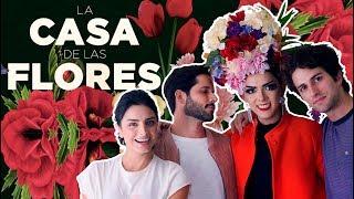 LA CASA DE LAS FLORES   NETFLIX   Aislinn Derbez, Lucas Velasquez & Dario Yazbek