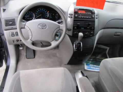 2006 TOYOTA Sienna 5dr LE FWD 7Passenger  YouTube