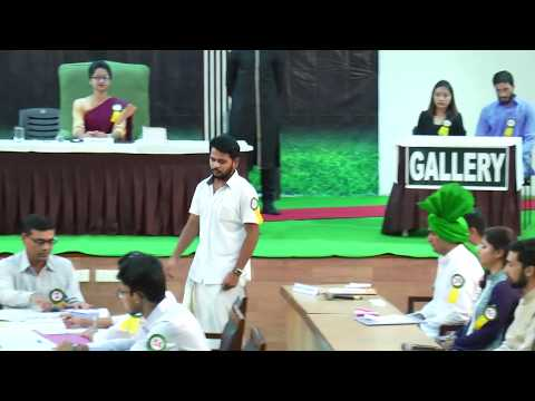 National Youth Parliament Competition in Central University Punjab, Bathinda 2017 HD