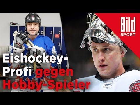 Amateur vs. Eishockey-Profi – BILD-Reporter schenkt den Ice Tigers einen ein
