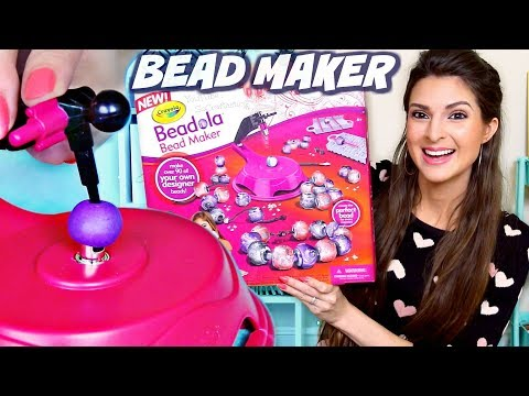 Testing CRAYOLA BEADOLA Bead Maker Craft Kit