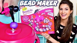 Testing CRAYOLA BEADOLA Bead Maker Craft Kit