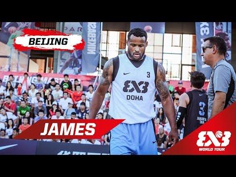 Dominic James - Mixtape - Beijing - 2015 FIBA 3x3 World Tour
