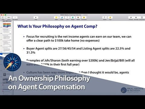 An Ownership Philosophy on Agent Compensation