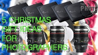 5 Christmas Gifts Ideas For Photographers