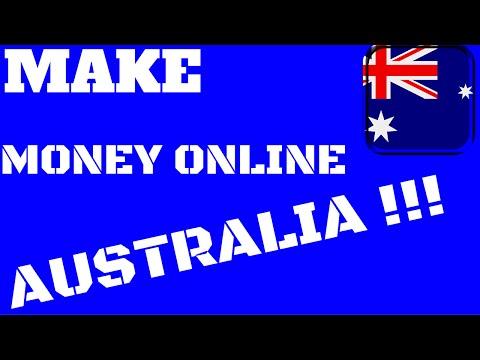 Make money online australia | How to make money online in Australia