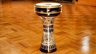 MEINL Percussion - Copper Darbuka, Hand Engraved - HE-205