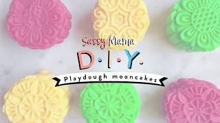 Mid-Autumn Festival Crafts: Playdough Mooncakes