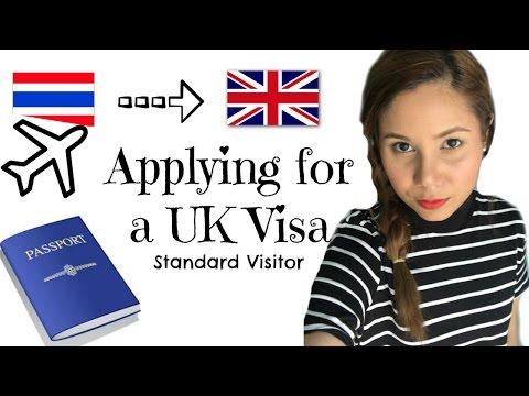 ขอวีซ่าไปประเทศอังกฤษ UK visa by Learn English with Text-And-Talk