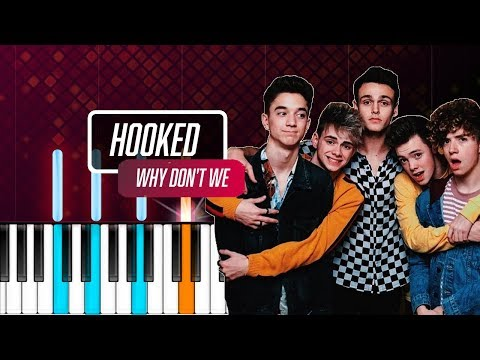 """Why Don't We - """"Hooked"""" Piano Tutorial - Chords - How To Play - Cover"""