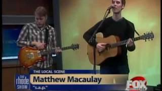 Local Scene: Matthew Macaulay