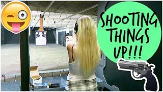 Girl with a Gun! | Ashley Nichole