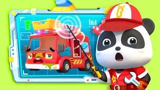 Bayi Panda Adalah Mekanik Mobil Super | Lagu Anak-anak | BabyBus Bahasa Indonesia
