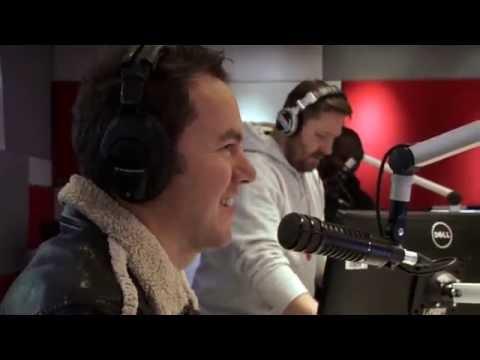 Darren surprises the 947 Breakfast Xpress...