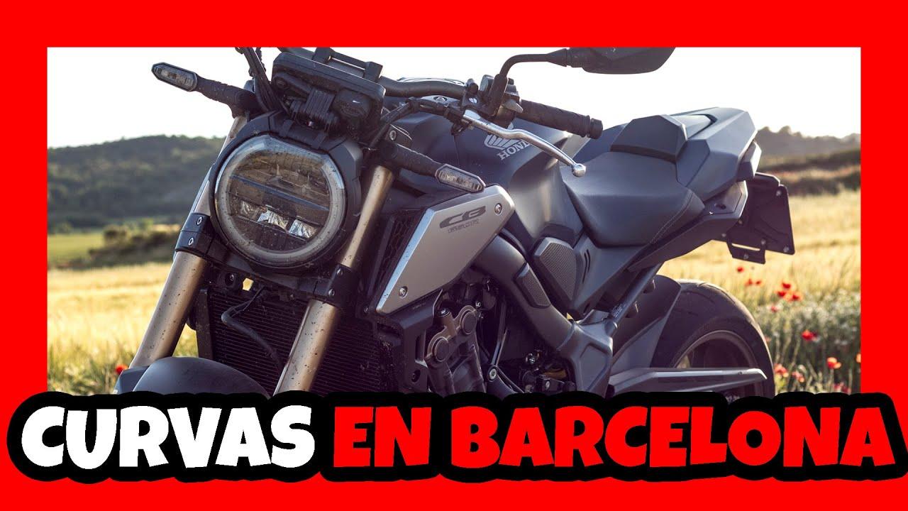 LA MEJOR RUTA EN MOTO por BARCELONA