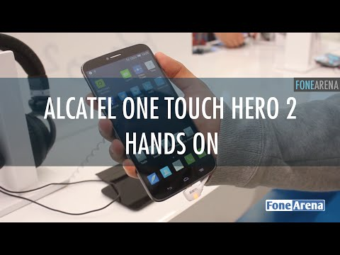Alcatel One Touch Hero 2 Hands on