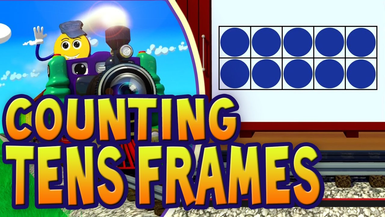 Tens Frames Train - Count the Dots in Each Ten Frame | PicTrain ...