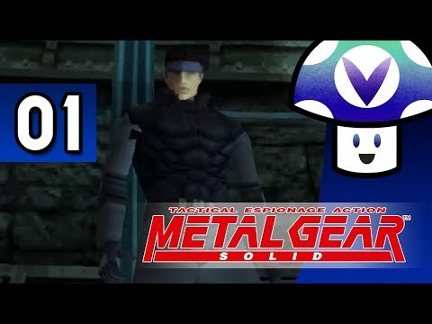 [Vinesauce] Vinny - Metal Gear Solid (part 1)