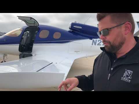 Cirrus Vision SR50 Jet at Santa Monica Airport