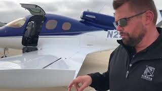 Cirrus Vision SF50 Jet at Santa Monica Airport