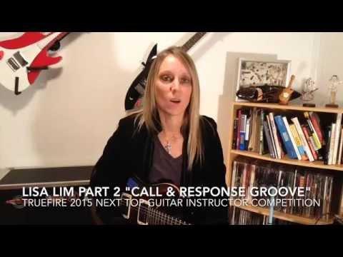 Lisa Lim - Lesson #2 - Next Top Guitar Instructor