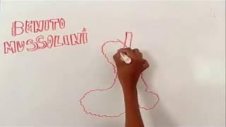 Draw my life de Benito Mussolini
