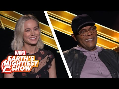 Hear What the Stars Have to Say About Captain Marvel | Earth鈥檚 Mightiest Show