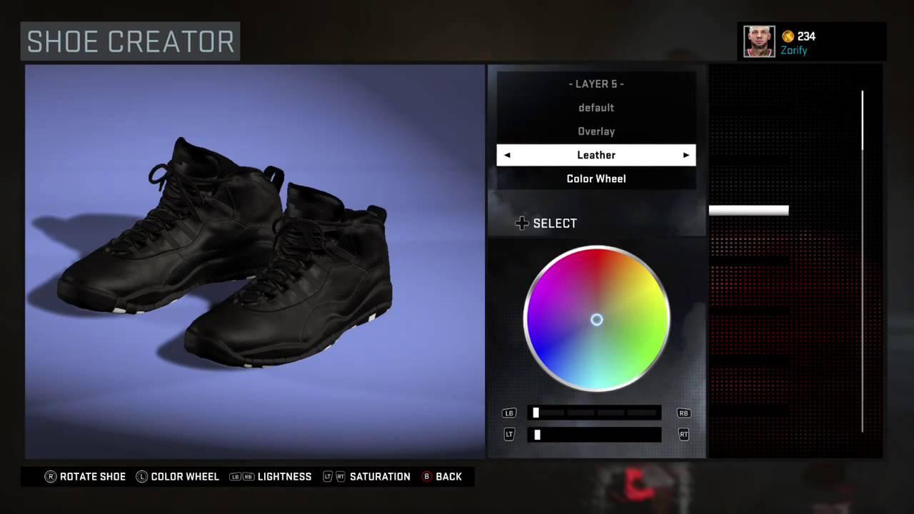 eb7c56c9e095bc NBA 2K16 Shoe Creator - Air Jordan 10