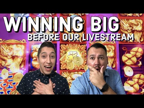 STREAM Pit Stop to Quadruple our MONEY ~ Rising Fortunes & Double Blessing Slot Machines