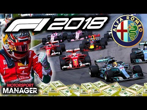 4 WIDE BATTLES! CLOSE KNIT CANADA RACE! - F1 2018 Alfa Romeo Manager Career Part 23