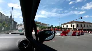 CL a testé la circulation dans Angoulême avec les travaux (Trajet 2)