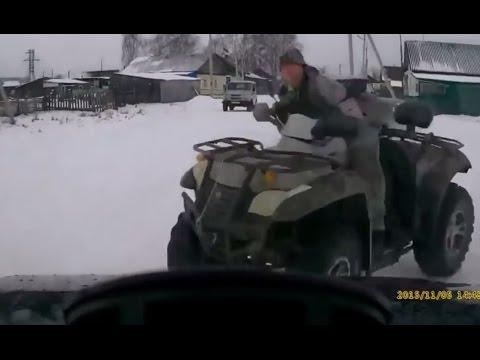 Car Crashes On Ice Compilation