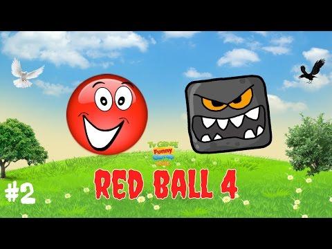 RED BALL 4 КРАСНЫЙ ШАРИК прохождение Игры на андроид игровой мультик видео - игра для детей Part 2