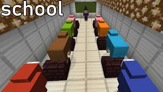 Society portrayed by Minecraft