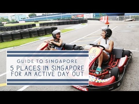 5 Places In Singapore For An Active Day Out (feat. Georgina Poh) - Guide To Singapore: Episode 8