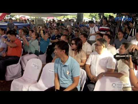 Groundbreaking Ceremony of Biyaya ng Pagbabago Housing Project 5/18/2017