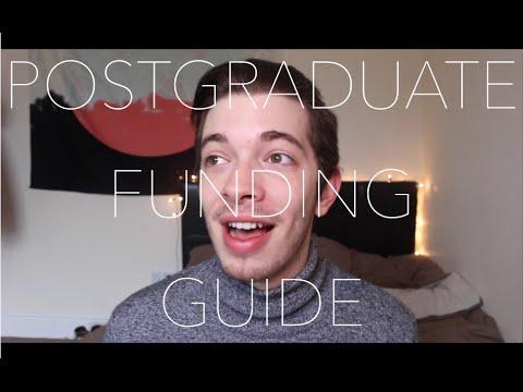 Vlog: Postgraduate funding
