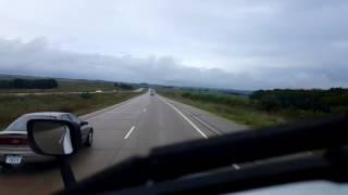 Bigrigtravels Live! Belmont,  Wisconsin to De Forest US Highway 151 September 7, 2016