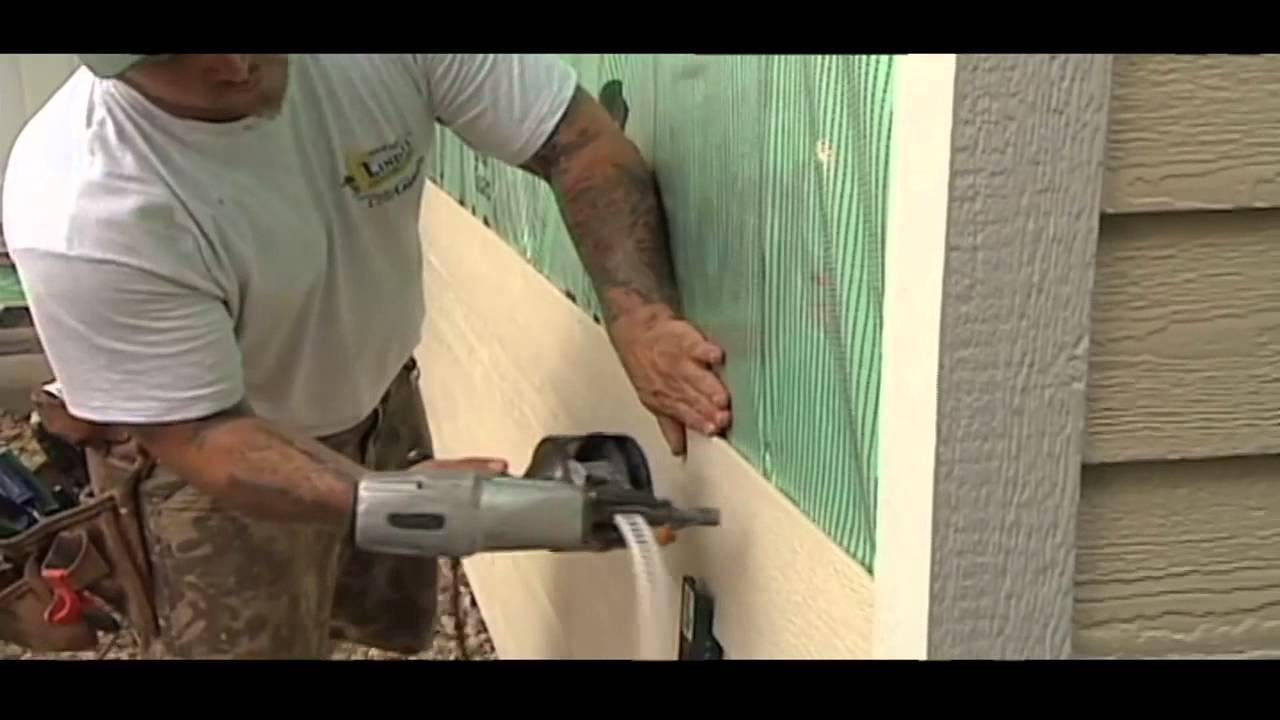 Lp Smartside Siding Residential Installation By Lindus Construction Youtube