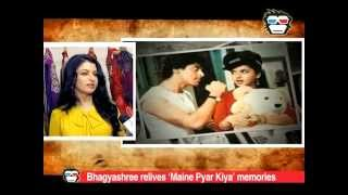 Bhagyashree relives the memories of
