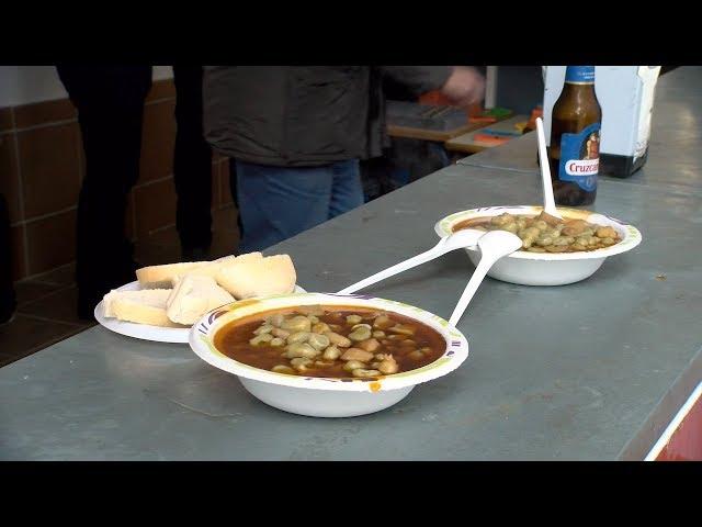 Tradicional Habas con Choco de la Hdad. de San Isidro Labrador de Cartaya