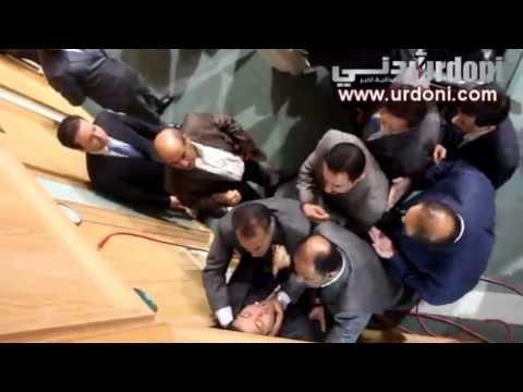 [فيديو كامل] طلال الشريف يطلق النار بكلاشنكوف في مجلس النواب ومريم اللوزي تنقذ الموقف! 9/9/2013