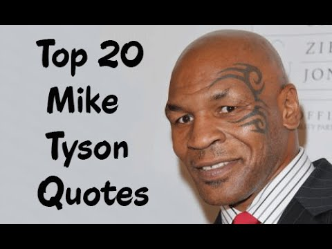 Funny Mike Tyson Quotes
