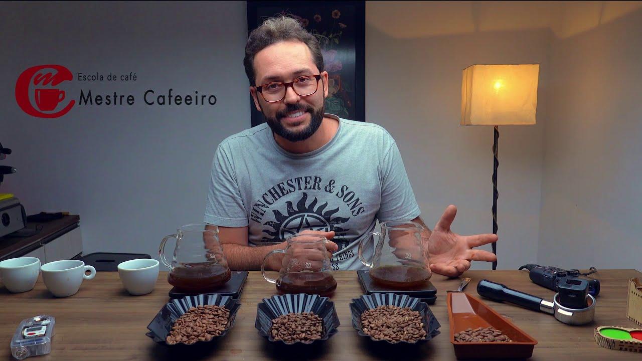 Criação de blend de cafés - Seleção do Erick Cafés especiais