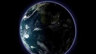 影片特效 - 地球自轉