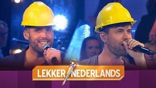 Nick en Simon zingen